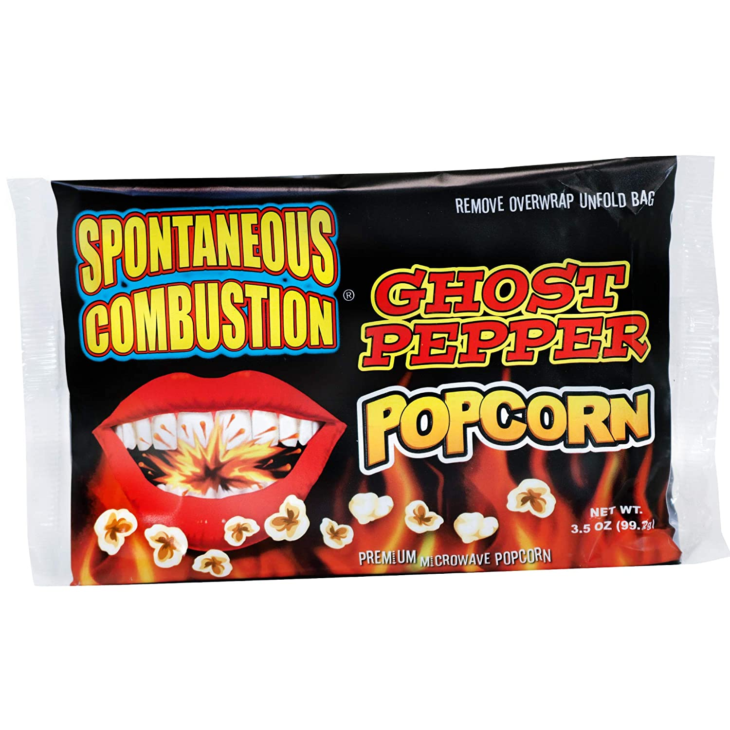 Spontaneous Combustion Spasm price Ghost Pepper Microwave Lowest price challenge Popcorn P - Bags 6