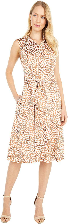 NIC+ZOE Women's Copper Kiss Shirt Dress