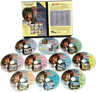 Bob Ross: The Joy of Painting - Nine 1-Hour Instructional Guides Gift Set