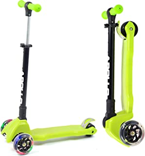 Apollo Scooter - Candy Racer LED - Big Wheel Scooter niños