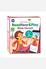 Read Hear & Play: Bible Heroes (6 Storybooks & Downloadable Apps!) Hardcover