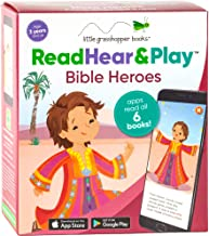 Read Hear & Play: Bible Heroes (6 Storybooks & Downloadable Apps!)