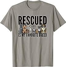 Dog Lovers T-Shirt for Women Men Kids - Rescue Dog Shirt