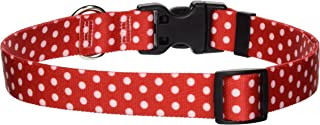 Yellow Dog Design Pet Collar, Standard Easy-Snap Collar, Polka Dot Collection, All-Sizes