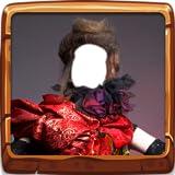 Montaje de fotos de disfraces de mujer