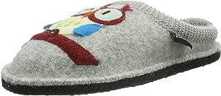 HAFLINGER Cute Owl Slippers | Flair Olivia, Grey