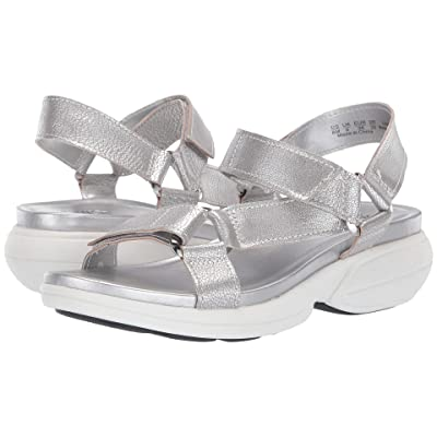 Naturalizer Febe (Silver Frost Metallic Tumbled Leather) Women