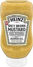 Heinz Spicy Brown Mustard (14 oz Bottle)
