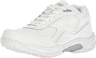 حذاء عمل ADTEC للرجال من الدانتيل الأبيض - مقاوم للانزلاق، مسامي، مريح + بأسعار معقولة
