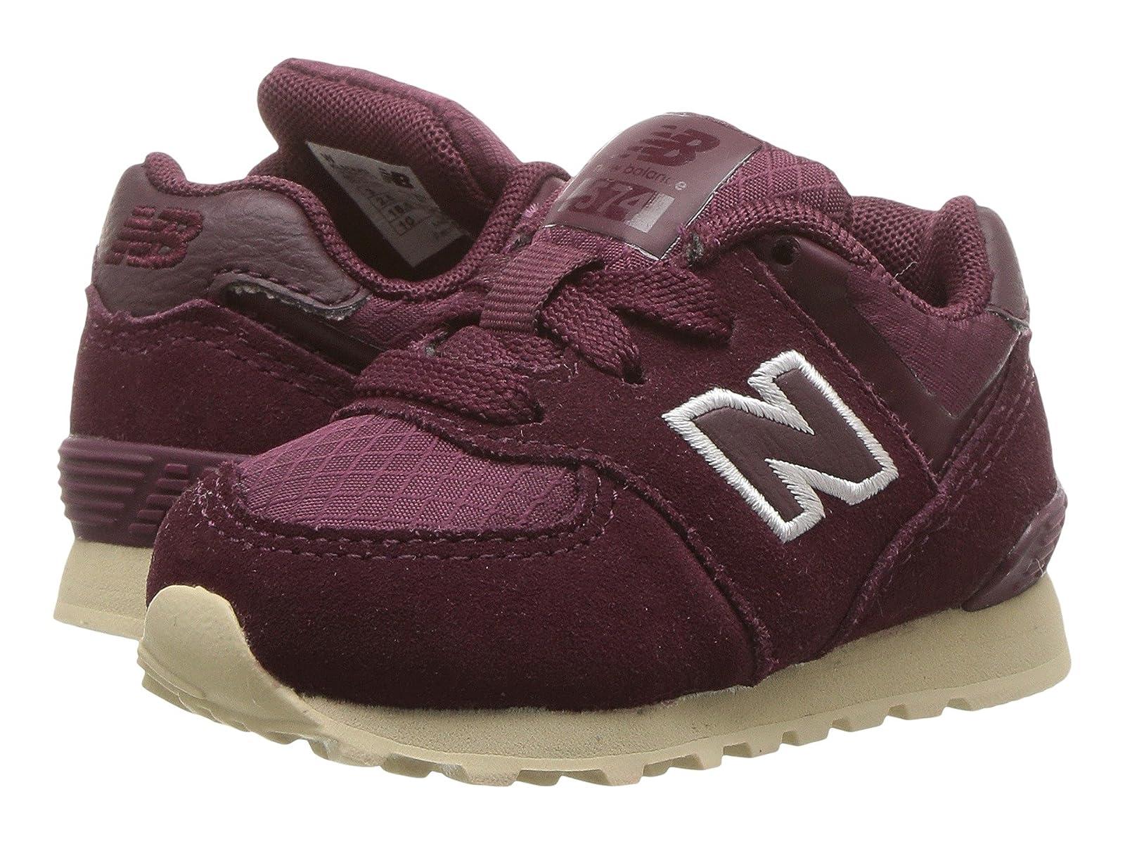New Balance Kids KL574v1I (Infant/Toddler)Cheap and distinctive eye-catching shoes
