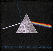Pink Floyd Dark Side of the Moon Patch Cover Art Rock Band Woven Badge Applique
