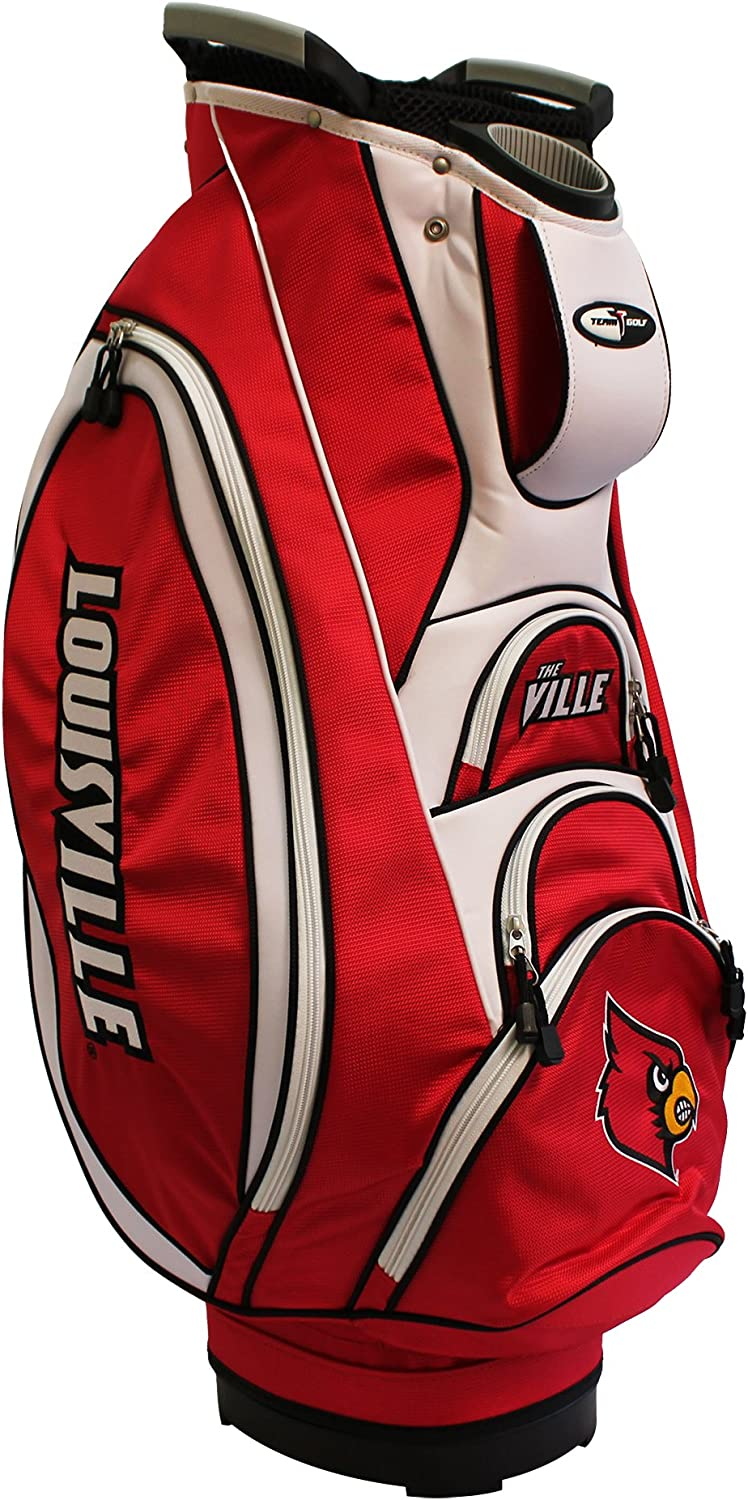 Team Golf wholesale NCAA Victory Cart Top Integrated Bag 10-way with gift