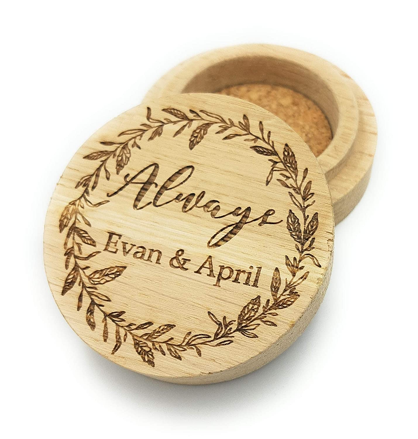 Personalized ring box Ultra-Cheap Deals Trust b wooden wedding