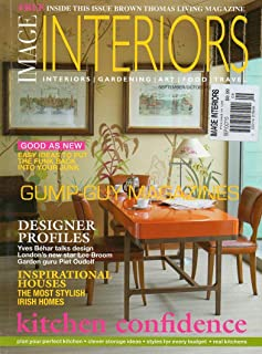 Image Interiors UK Magazine September October 2010 STYLISH IRISH HOMES Yves Behar Talks Design London's New Star Lee Broom Garden Guru Piet Oudolf KITCHEN CONFIDENCE