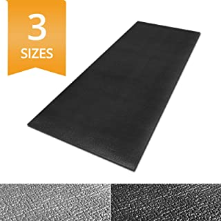 Ergocell Kitchen Anti Fatigue Mat - Memory Foam Kitchen Mat | Ergonomically Engineered Standing Desk Mat for Promoting Comfort at Home & Office | Two Colors Available | Black – 24