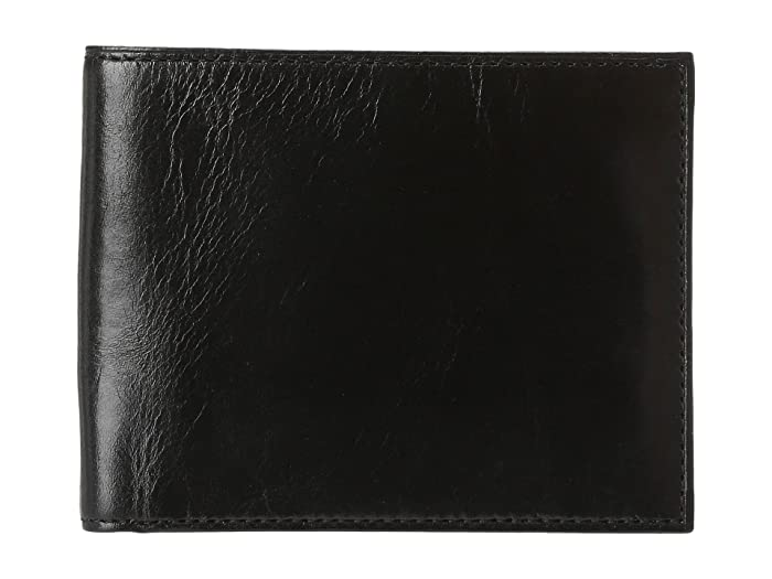 Bosca  Old Leather Classic 8 Pocket Deluxe Executive Wallet (Black) Wallet Handbags