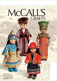 McCall Patterns M6670 Clothes for 18-Inch Doll and Accessories Sewing Template