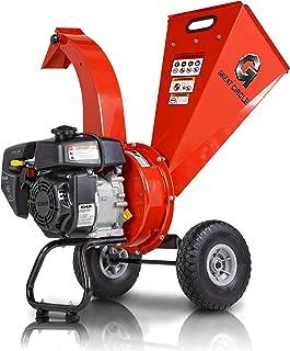 "GreatCircleUSA Mini Wood Chipper Shredder Mulcher Kohler Engine 6.5 HP 196cc Gas Powered 2.5"" Inch Max Wood Capacity EPA/C..."