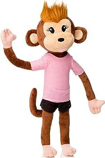 pink monkey stuffed animal