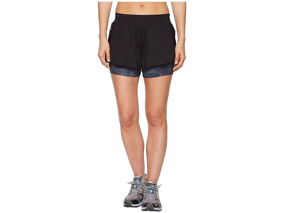 The North Face Versitas 2-in-1 Shorts (TNF Black/TNF Black Chalk Print) Women
