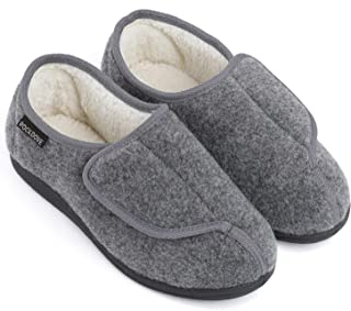 RockDove Men's Geri-Active Indoor Outdoor Adjustable Slipper