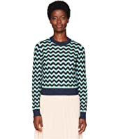 M Missoni - Chunky Zigzag Sweater