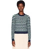 M Missoni - Chunky Zigzag Sweater