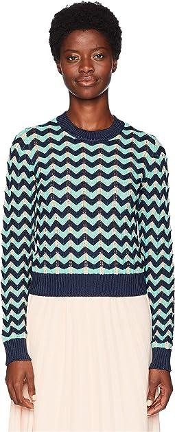Chunky Zigzag Sweater