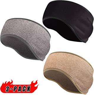 EasYoung Ear Warmers Muffs Headbands for Winter, 3/2 Pack Cold Weather Thermal Ear Muffs, Winter Ear Warm Cover Headbands for Running, Skiing, Working Out, Women&Men Daily Wear.