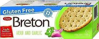 Dare Breton Cracker Gluten Free Herb Garlic, 4.76 oz