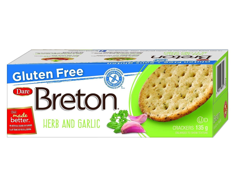 Dare Breton Cracker Gluten Free Garlic Herb and Super beauty product restock quality Max 50% OFF top 4.