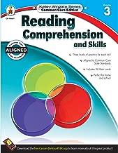 Carson-Dellosa Kelley Wingate Series Reading Comprehension and Skills Book - Common Core Edition, Grade 3, Ages 8 - 9