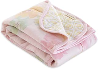 BURT'S BEES BABY - Reversible Blanket, Nursery, Stroller & Tummy-Time Organic Jersey Cotton Quilted Infant & Toddler