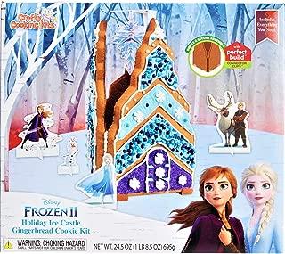 Disney Frozen 2 Ice Castle Gingerbread House Kit
