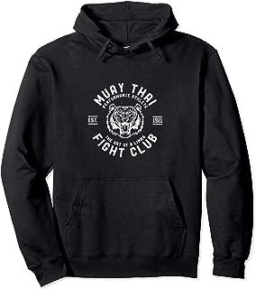 Muay Thai Fight Club Tiger Kick Boxing Hoodie Sweatshirt