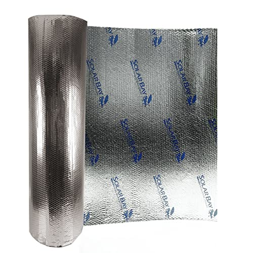 a413868ff4a250 30m2 (1.2x25m) of Solar Bay Metallic Polymer Double Foil Bubble Insulation