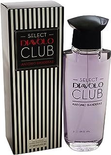 Antonio Banderas Select Diavolo Club Eau de Toilette Spray for Men 0.55 Pound by Antonio Banderas