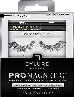 Eylure Pro Magnetic Natural Fibre Lashes, Fluttery Light No. 117
