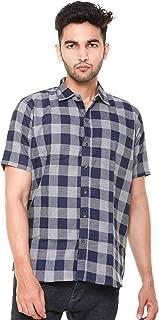 EASY 2 WEAR ® Men Checks Shirts Plus Size - Half Sleeves (S to 5XL) Comfort/Regular FIT Shirts