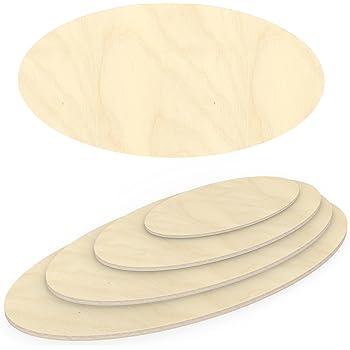 AUPROTEC Multiplexplatte 18mm rund /Ø 1400mm Holzplatten von 20cm-148cm ausw/ählbar runde Sperrholz-Platten Birke Massiv Multiplex Holz Industriequalit/ät als Tisch-Platte Bistro-Tisch etc verwendbar