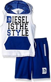 Diesel Boys' Tank and Short Set