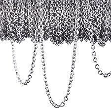 Collana Di Bracciali Catene A Croce Contorte Cate Catena Da 60 Piedi Per Collana Catenine Da Prolunga Catena In Argento Placcato Oro Catena Rolo