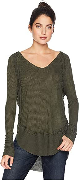 385d604e Free people fairground thermal, Clothing, Women | Shipped Free at Zappos