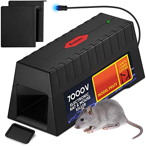 14c394adaa0 Electronic Rodent Zapper –Effective, Humane Exterminating Mice Killer  Electric Mouse Trap – Electronic Rodent