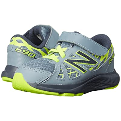 New Balance Kids 690v4 (Infant/Toddler) (Grey/Yellow) Boys Shoes