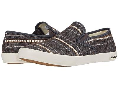 SeaVees Baja Slip-On Raffia Stripe (Brown) Men