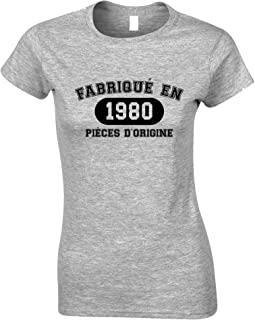 Tim And Ted French Womens Tshirt Fabriqu En 1980 Pices D'origine