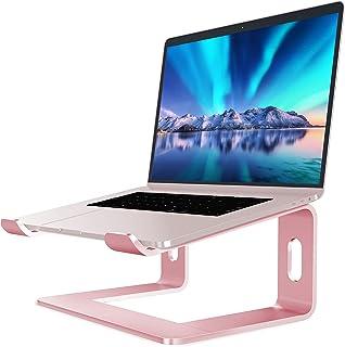 SOUNDANCE Aluminum Laptop Stand for Desk Compatible with Mac MacBook Pro Air Apple Notebook, Portable Holder Ergonomic Ele...