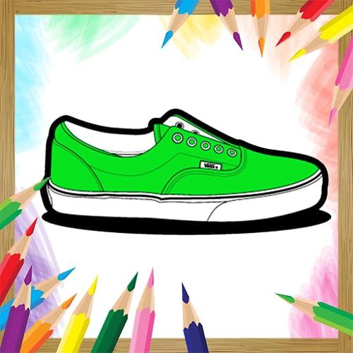 Coloring Book Sneakers