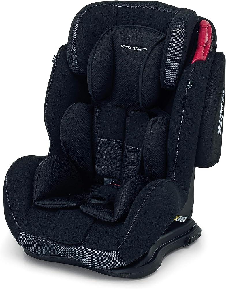 Foppapedretti dinamyk 9-36 seggiolino auto, gruppo 1/2/3 (9-36 kg) per bambini da 9 mesi a 12 anni circa, 9700385301